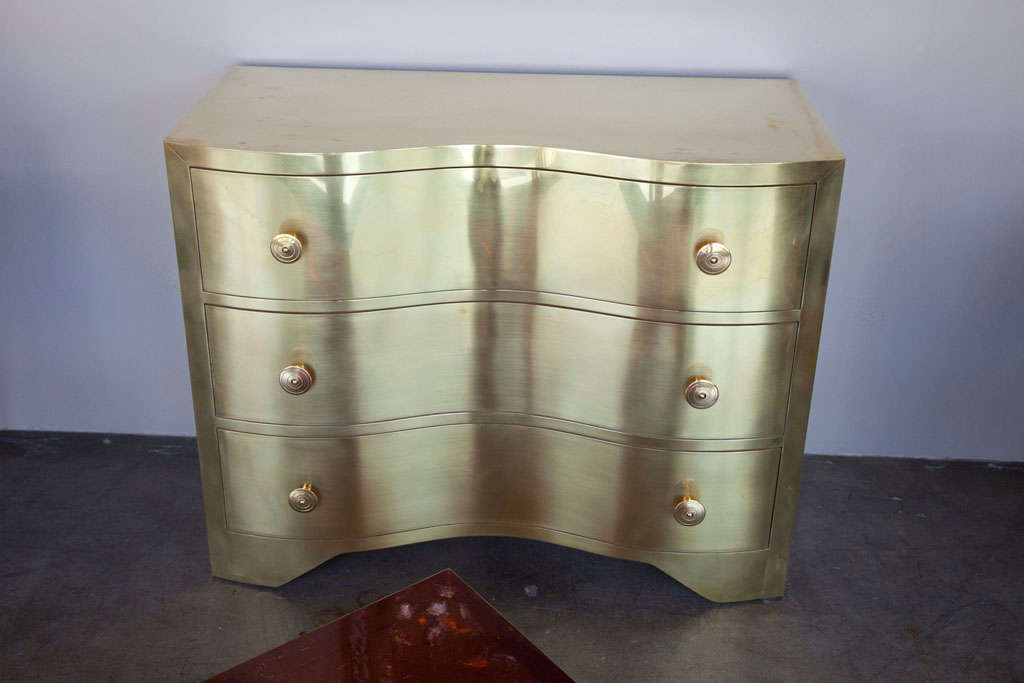 Brass Serpentine Chest image 2