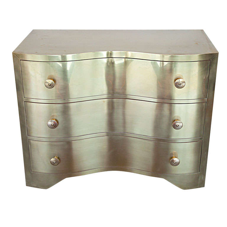 Brass Serpentine Chest
