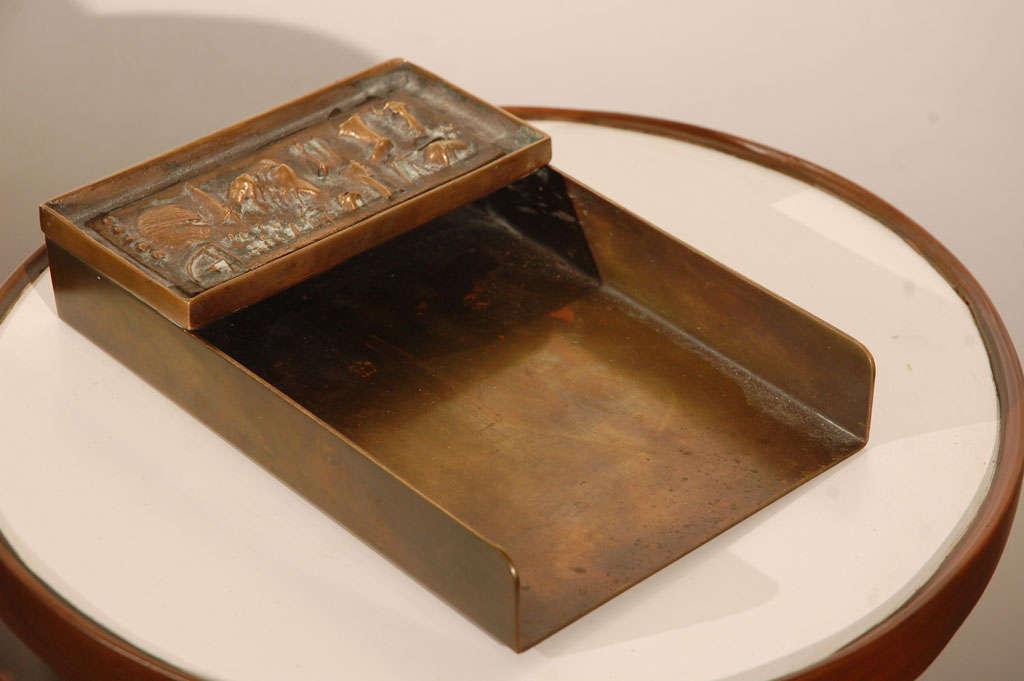 Mid-20th Century Arnaldo Pomodoro Unsigned Rare Letter Tray