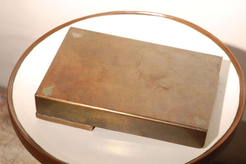 Bronze Arnaldo Pomodoro Unsigned Rare Letter Tray