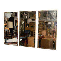 Set of Three Decorative Modern Mirrors by La Barge