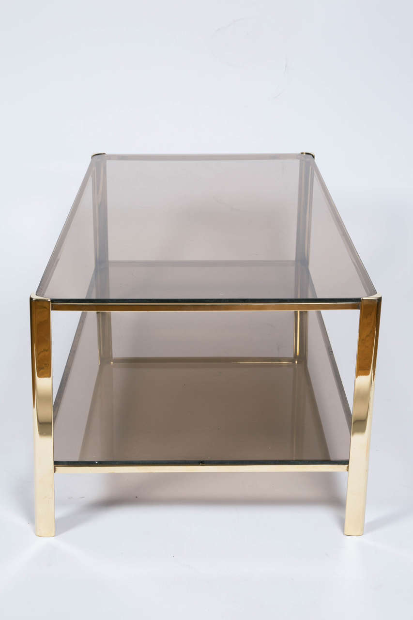 Bronze Cocktail Table by Jacques Quinet for Malabert For Sale