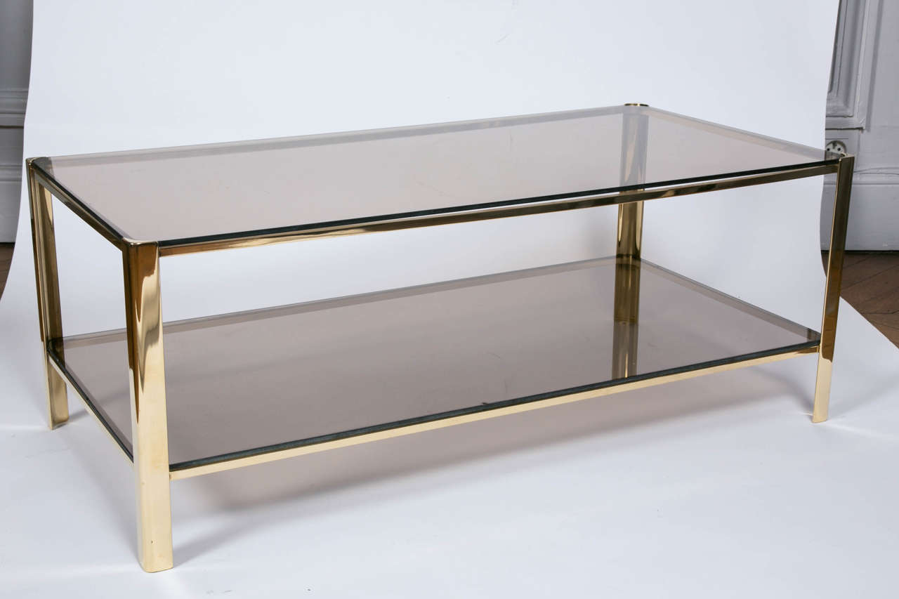 Cocktail Table by Jacques Quinet for Malabert For Sale 1