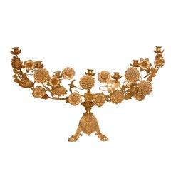 Gilt Bronze Candelabra