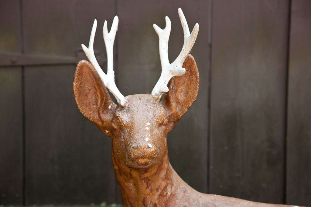 Cast Iron Deer For Sale 4