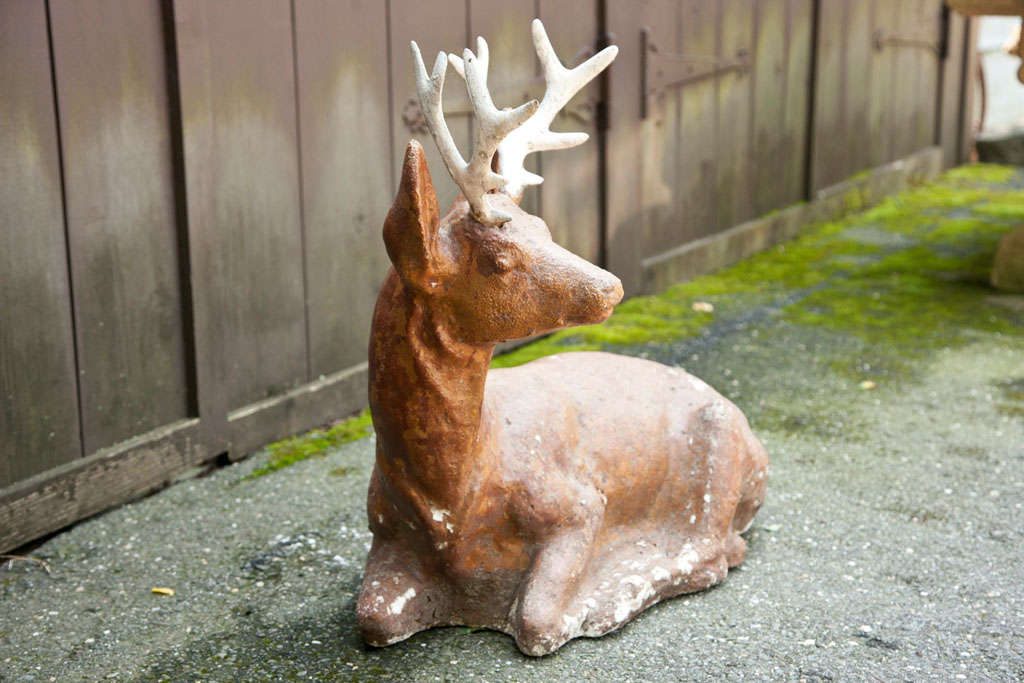 Cast Iron Deer For Sale 1