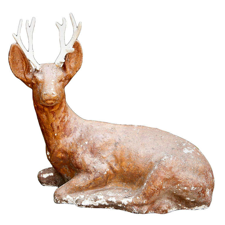 Cast Iron Deer For Sale