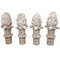 Stone Torch Finials