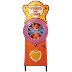 "American ""Wheel of Love"" Novelty Game"