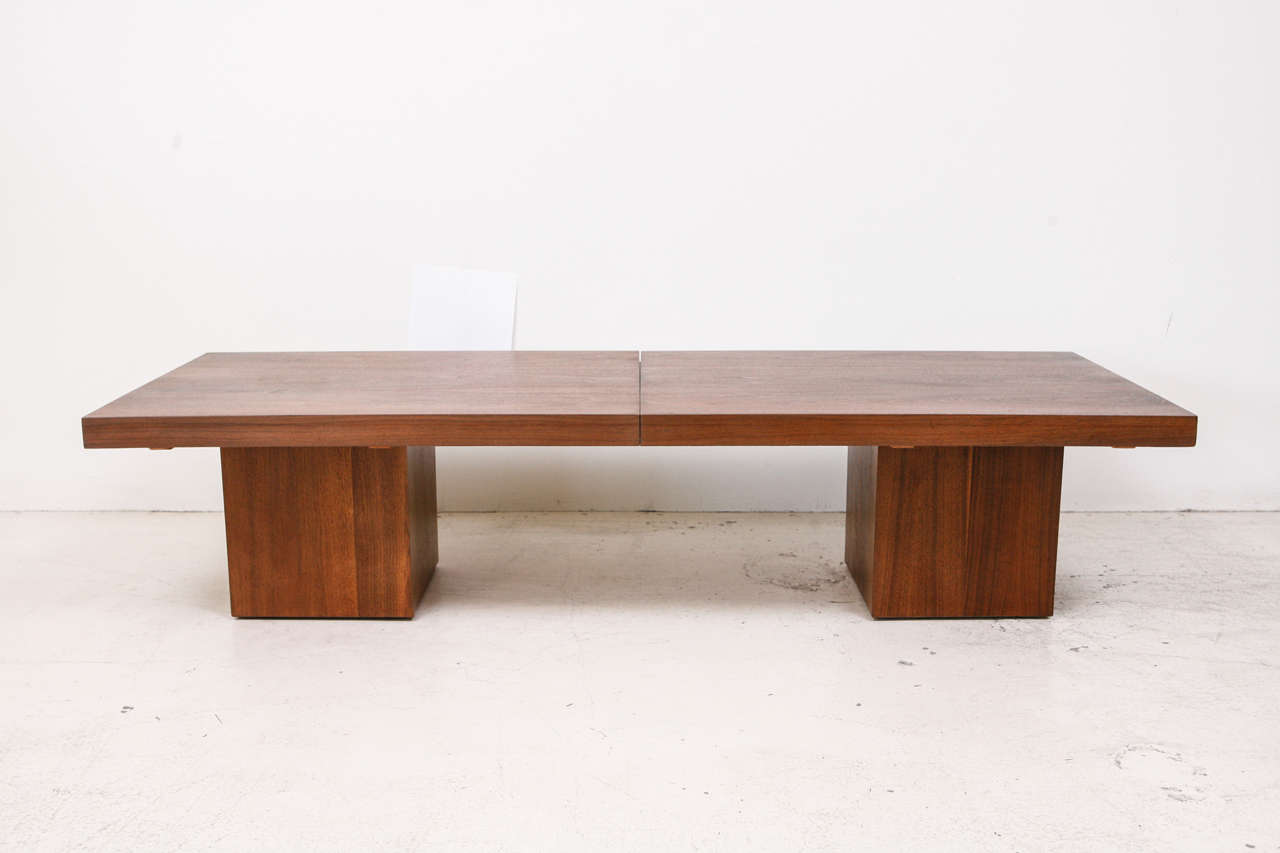 Expandable Coffee Table By John Keal For Brown Saltman At 1stdibs