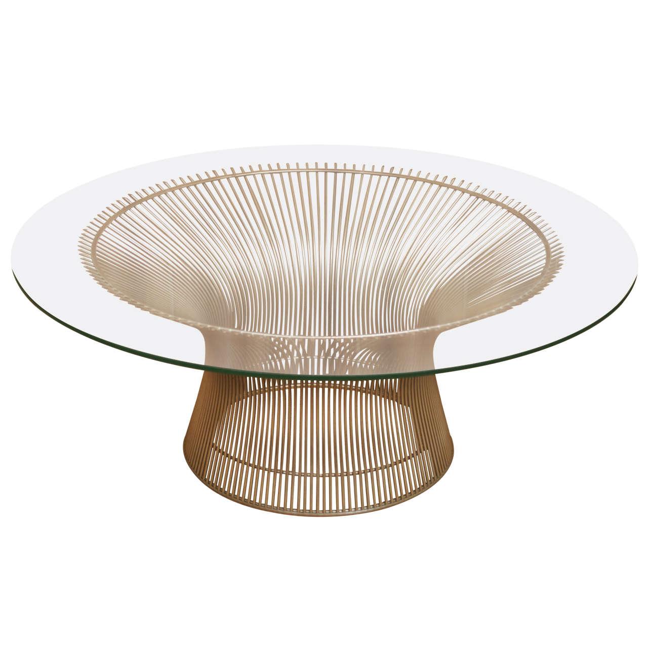 platner knoll coffee table at 1stdibs