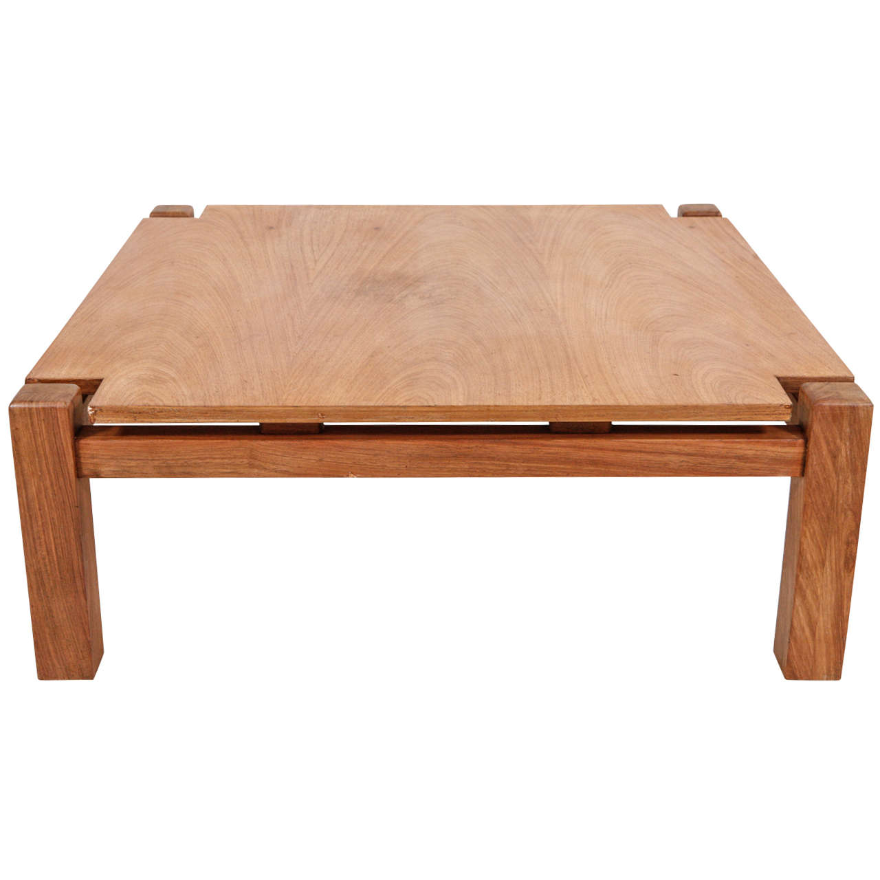Modern Mission Style Coffee Table At 1stdibs