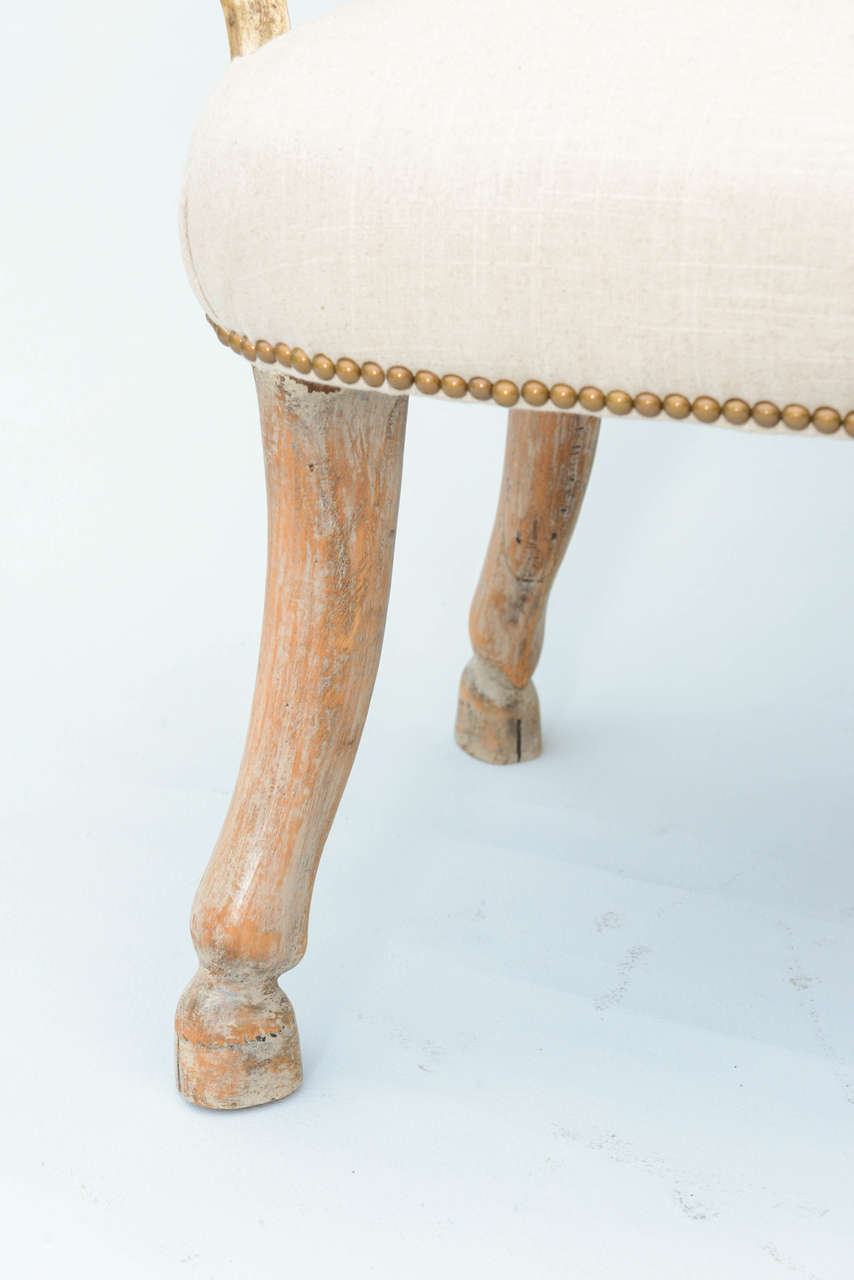 Pair Of 19c Fantasy Furniture Antler Armchairs At 1stdibs