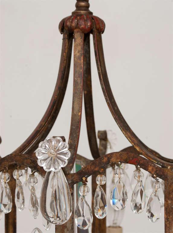 Oriental Style 6 Light Chandelier At 1stdibs
