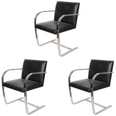 Mies van der Rohe Brno Chairs for Knoll
