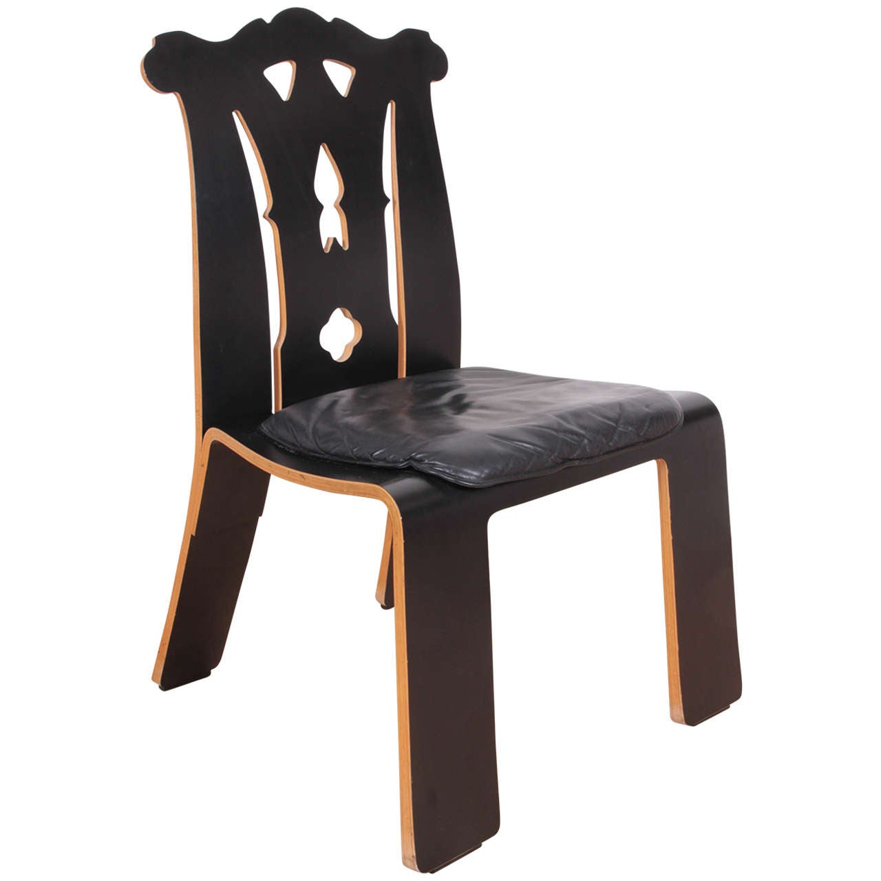 """Robert Venturi """"Chippendale"""" Chair for Knoll For Sale"""
