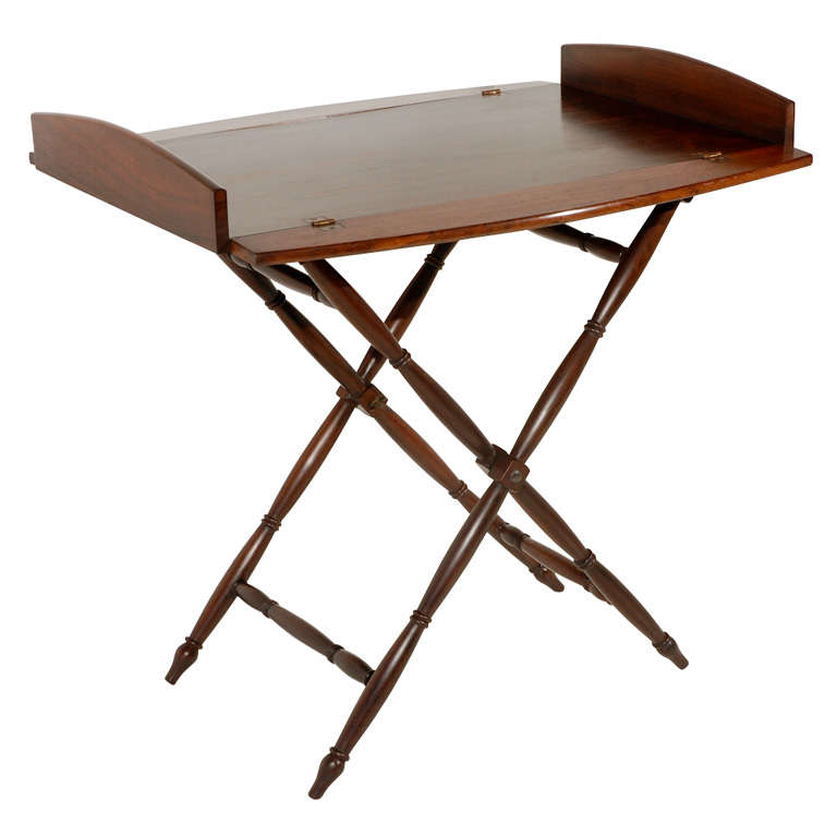 Rosewood Butler's Tray and Stand