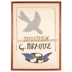 Exposition Georges Braque Lithographic Poster