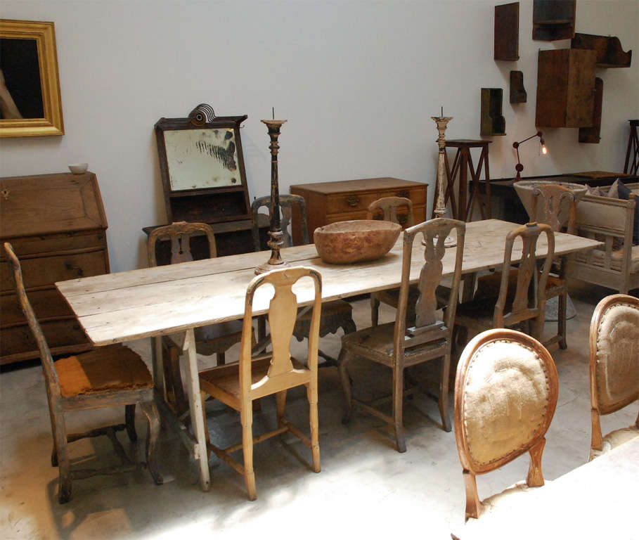 Early American Dining Table New England At 1stdibs