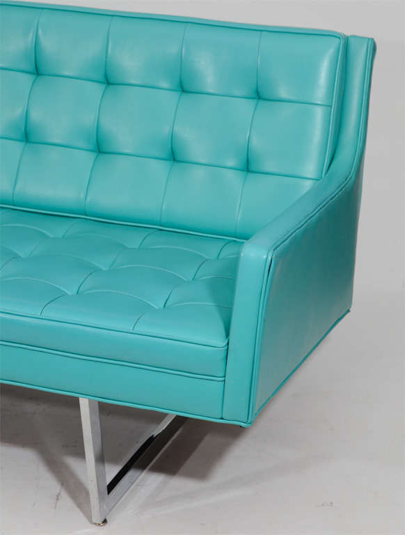 Sleek Tufted Modern Sofa 3