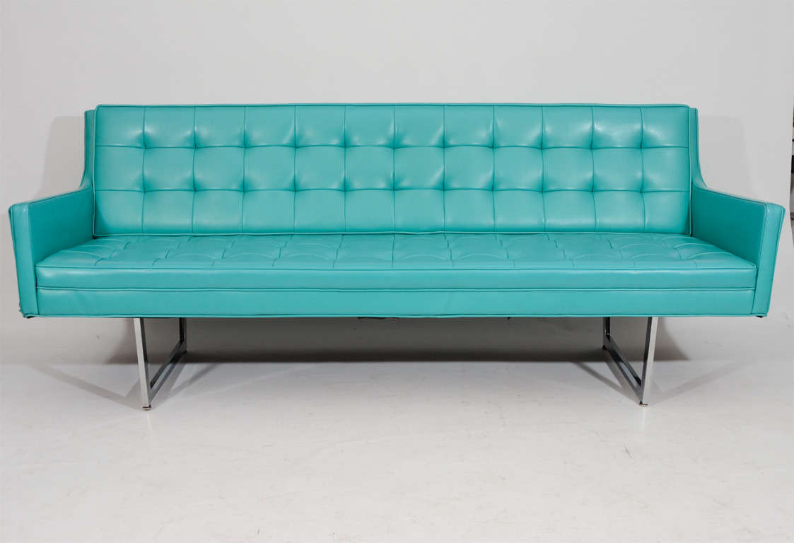 Sleek Tufted Modern Sofa 4