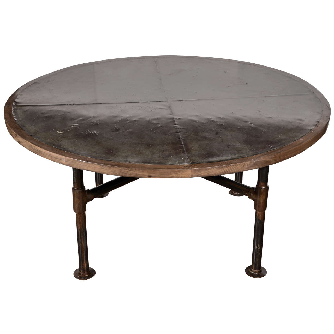 zinc top dining table at 1stdibs