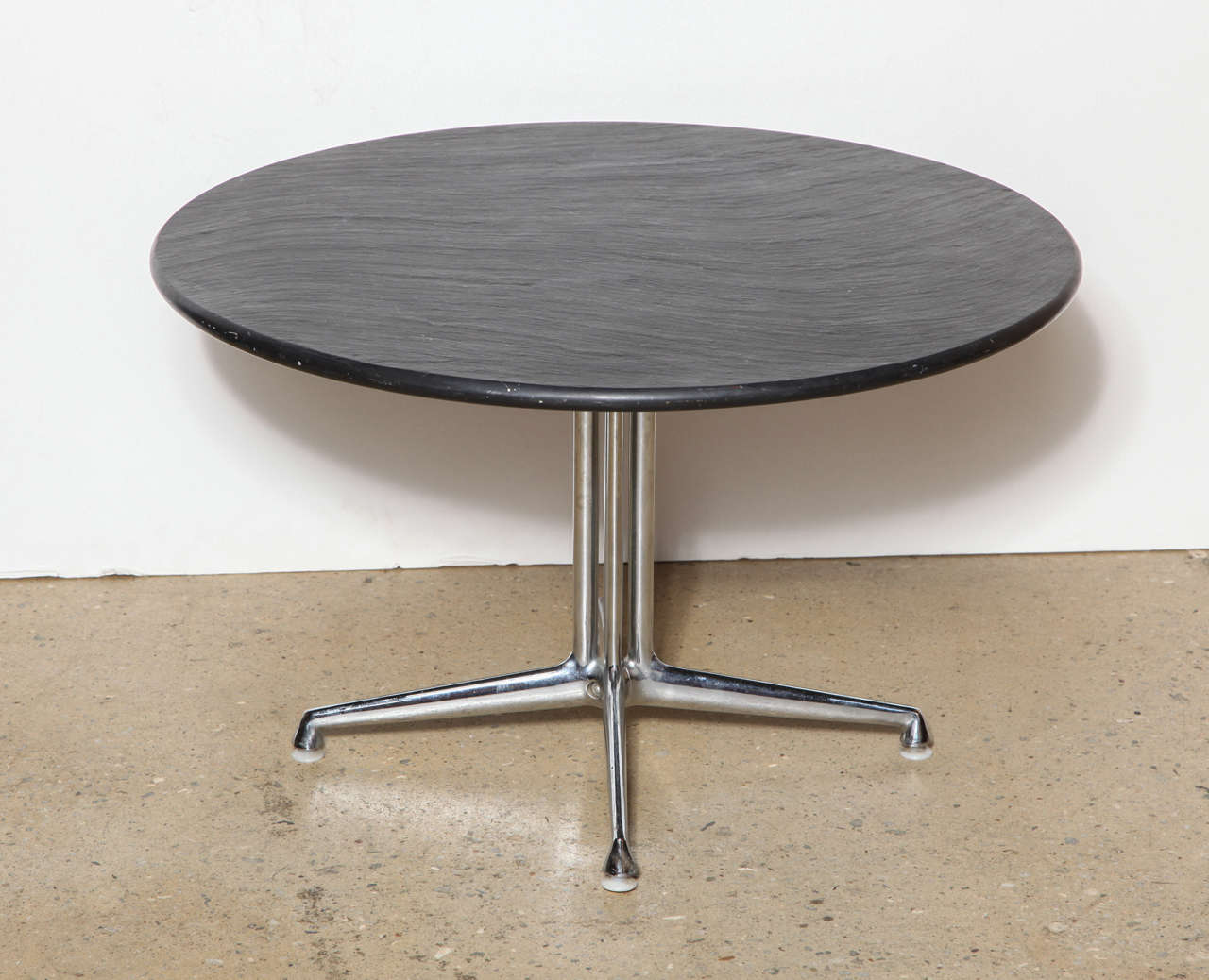 1960s charles and ray eames for herman miller chrome and - Eames table herman miller ...