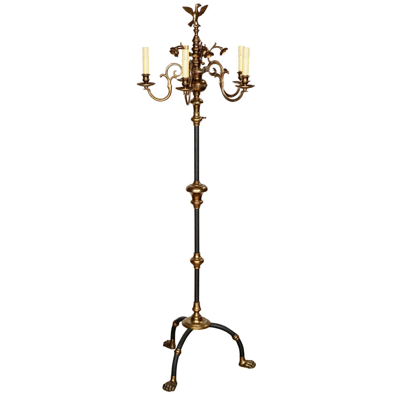 Spectacular Hollywood Regency Italian Floor Lamp