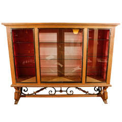 French Modern Display Cabinet