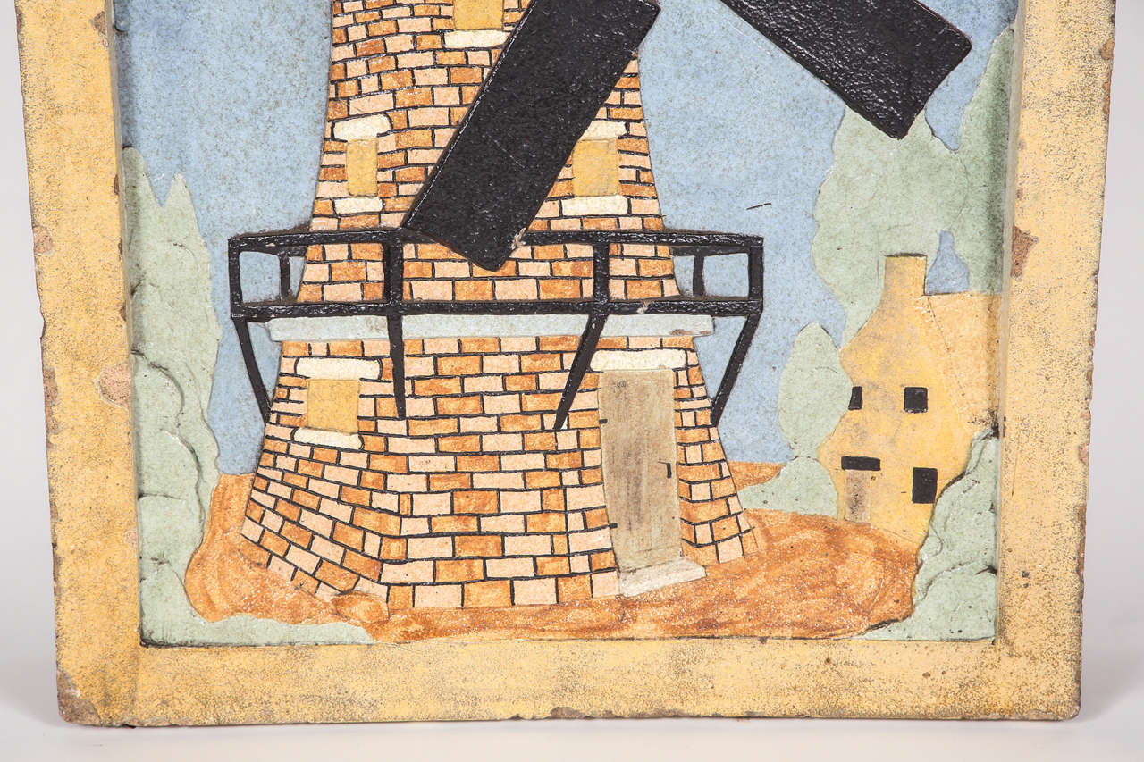 Terra Cotta Block : Large scale glazed terra cotta block from the netherlands