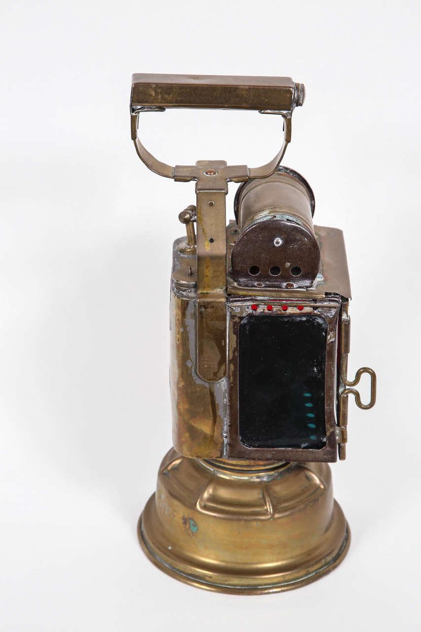 Early 1800s French Railroad Keroscene Lantern At 1stdibs