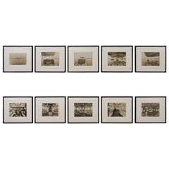 Stylish Set of Ten Photos Documenting Yachting Life