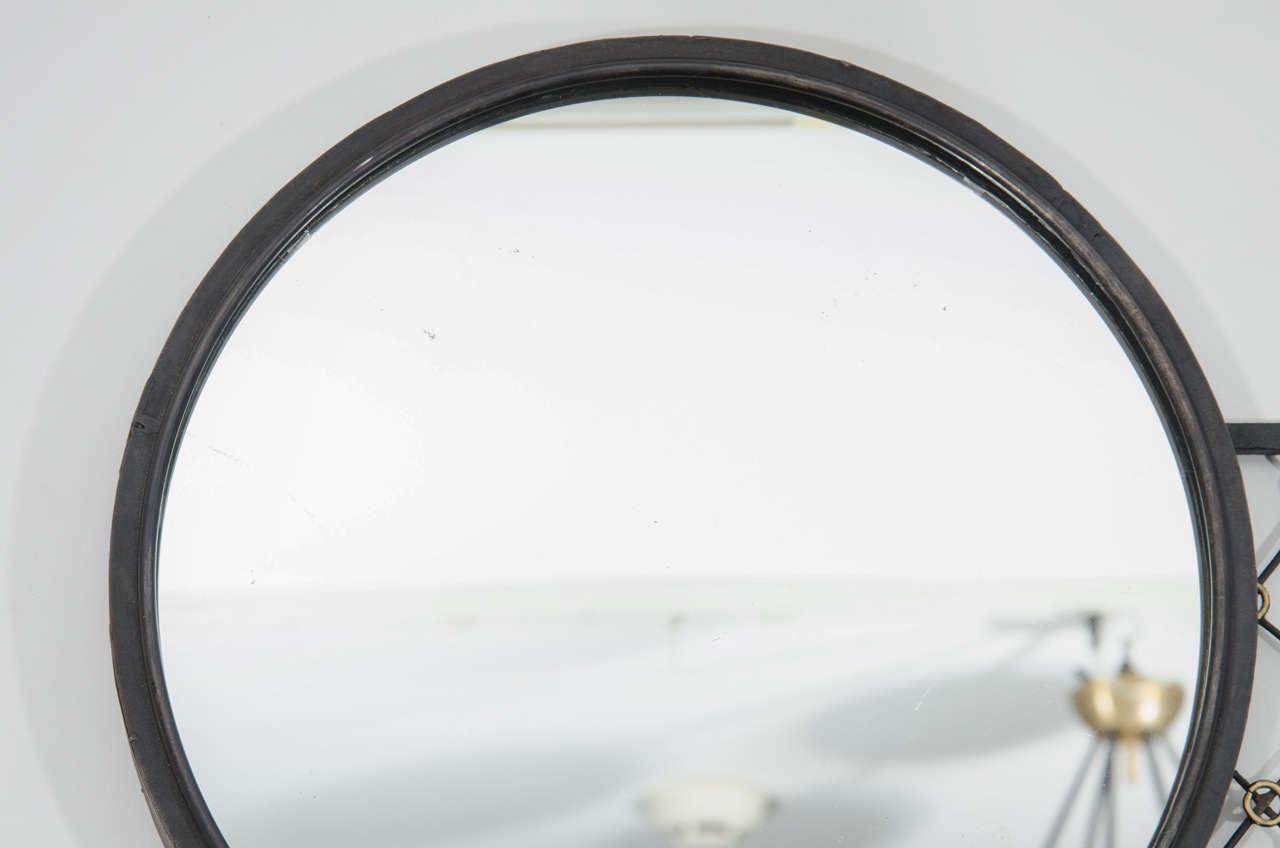 Geometric Iron Mirror For Sale At 1stdibs