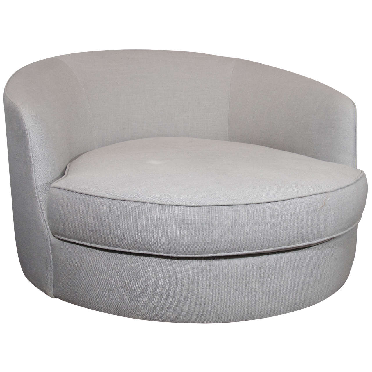 1960s Milo Baughman Tub Chair For Sale at 1stdibs