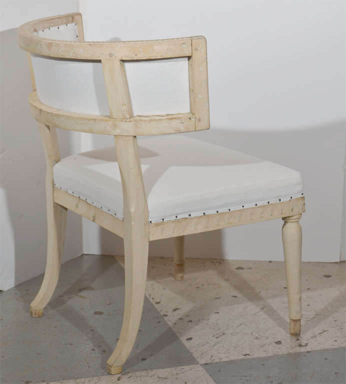 19th Century Swedish Gustavian Klismos Chairs For Sale
