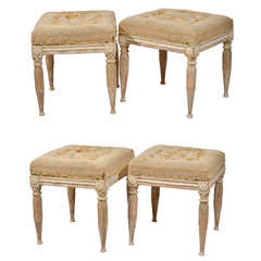 Swedish Gustavian stools
