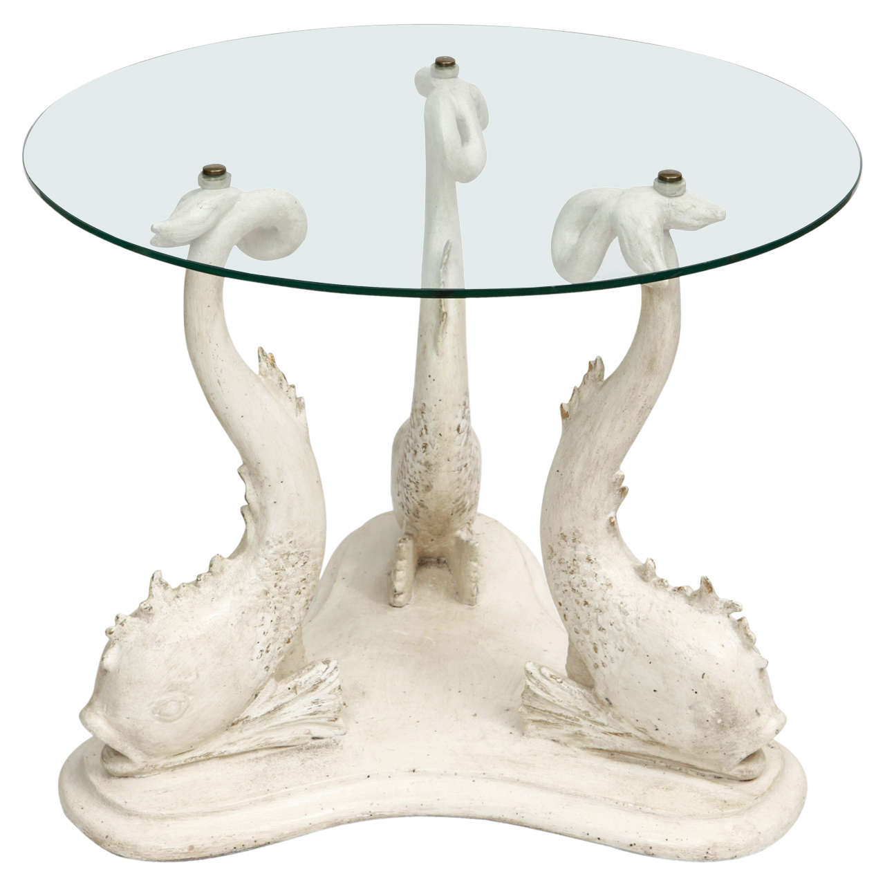 1940 S Table With Fishes At 1stdibs