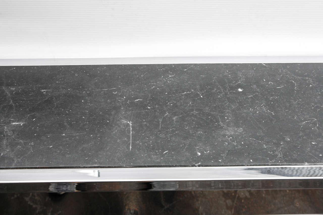 20th Century Sleek Paul Laszlo Console For Sale