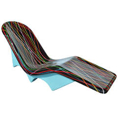 """Playful """"Surfboard"""" Chaise Lounge Chair by Mauro Oliveira"""