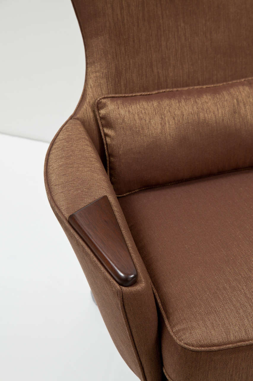 Pair of High Back Lounge Chairs by Adrian Pearsall 6