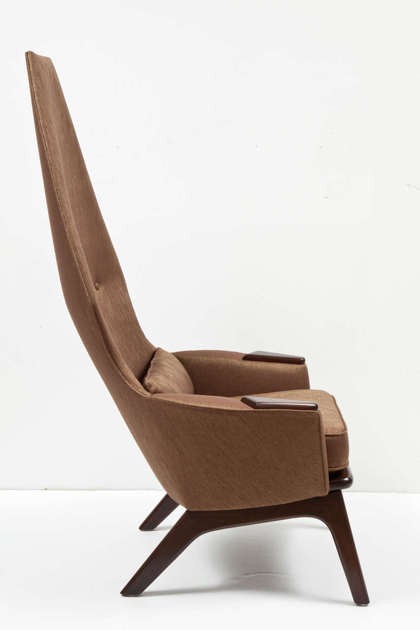 Pair of High Back Lounge Chairs by Adrian Pearsall 7
