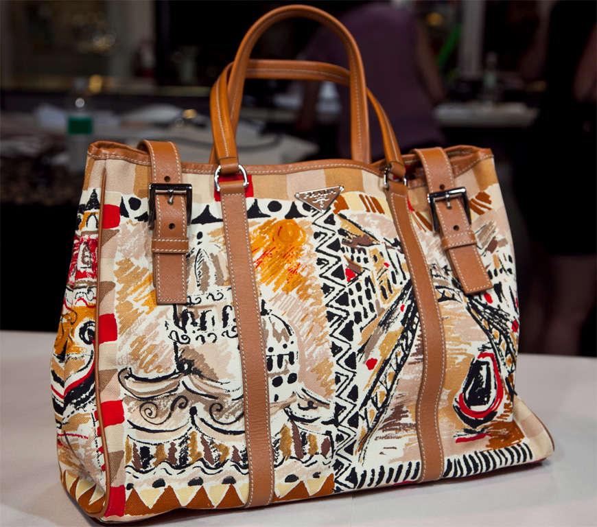 Prada Limited Edition Venetian Scene Tote Bag* presented by funkyfinders 2