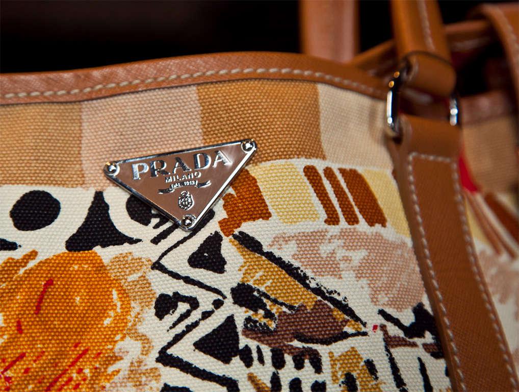 Prada Limited Edition Venetian Scene Tote Bag* presented by funkyfinders 3