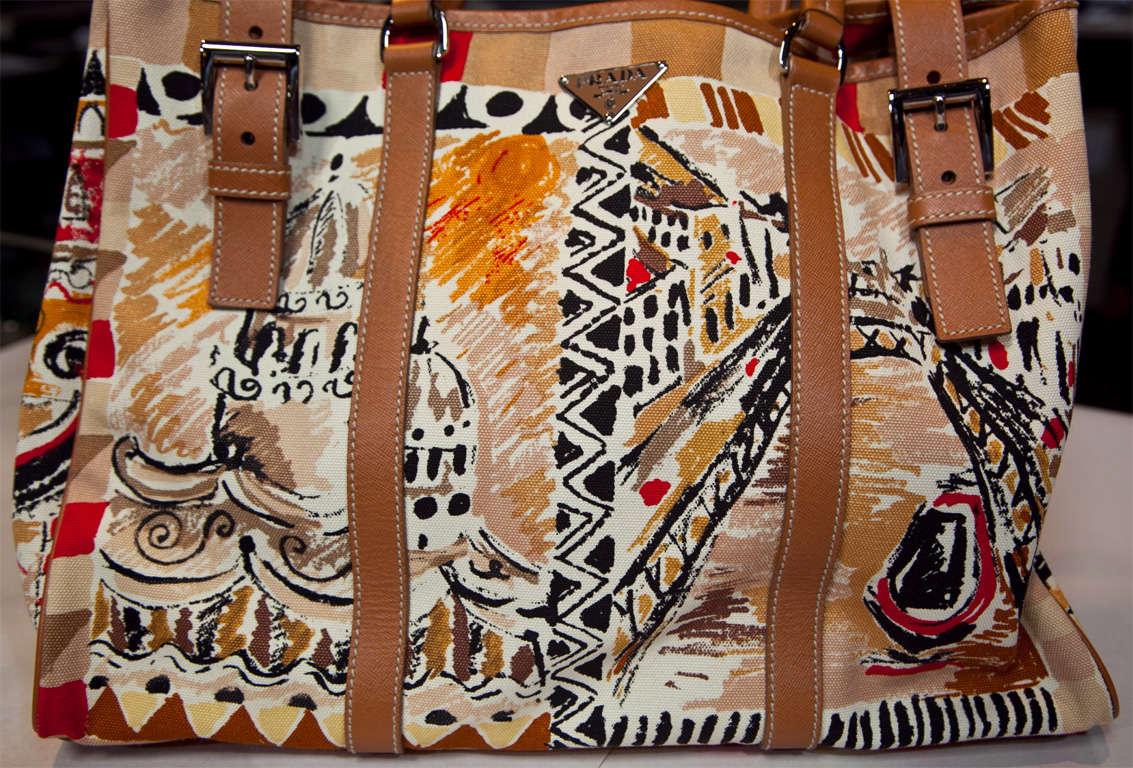 Prada Limited Edition Venetian Scene Tote Bag* presented by funkyfinders 4