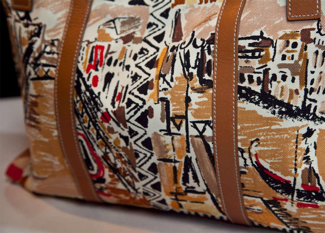 Prada Limited Edition Venetian Scene Tote Bag* presented by funkyfinders 6