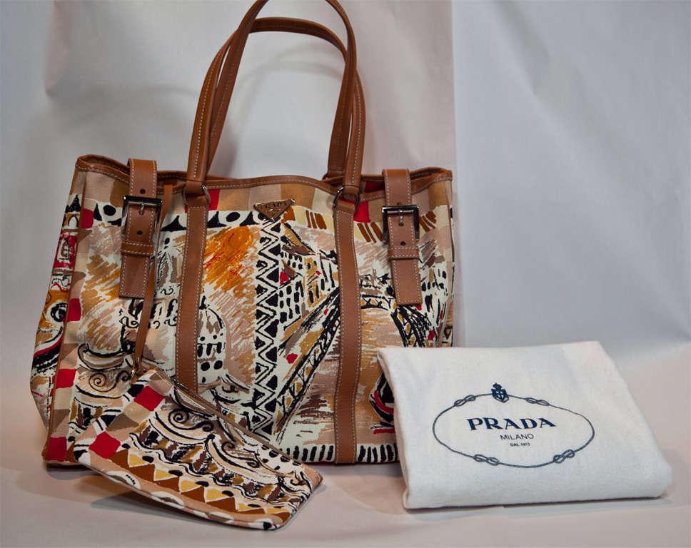 Prada Limited Edition Venetian Scene Tote Bag* presented by funkyfinders 9