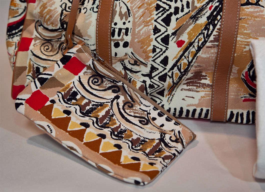 Prada Limited Edition Venetian Scene Tote Bag* presented by funkyfinders 10