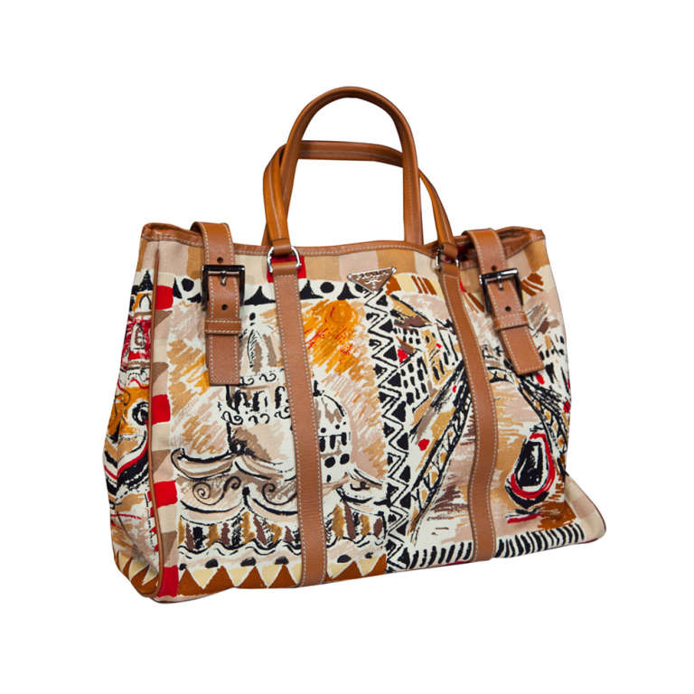 Prada Limited Edition Venetian Scene Tote Bag* presented by ...