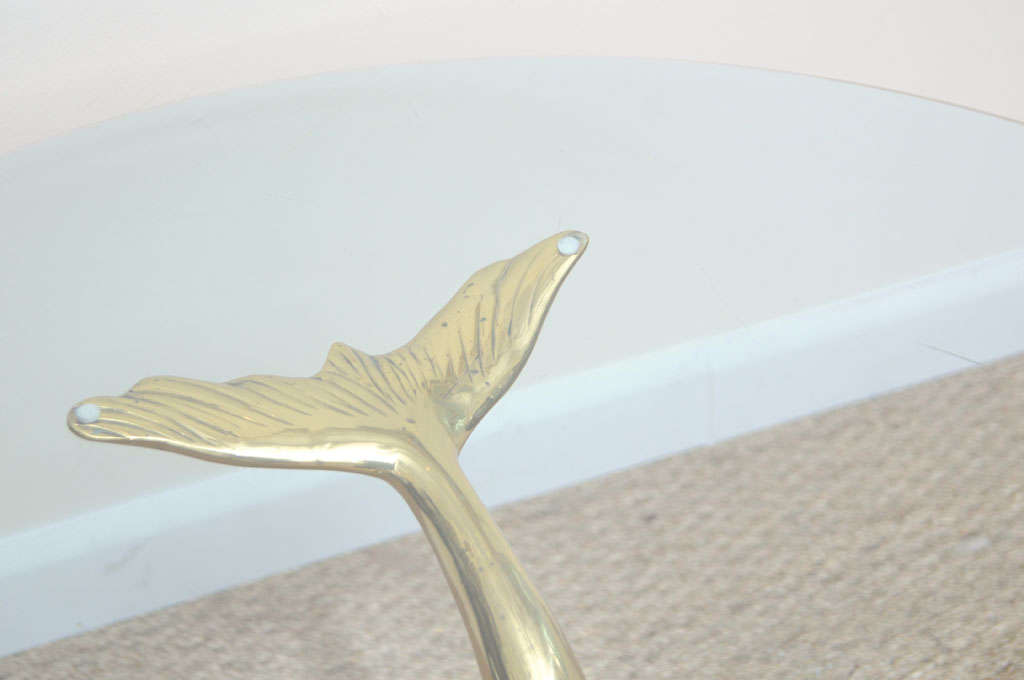 Brass Dolphin Coffee Table For Sale At 1stdibs