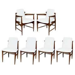 Elegant 50's Modern Dining Chairs